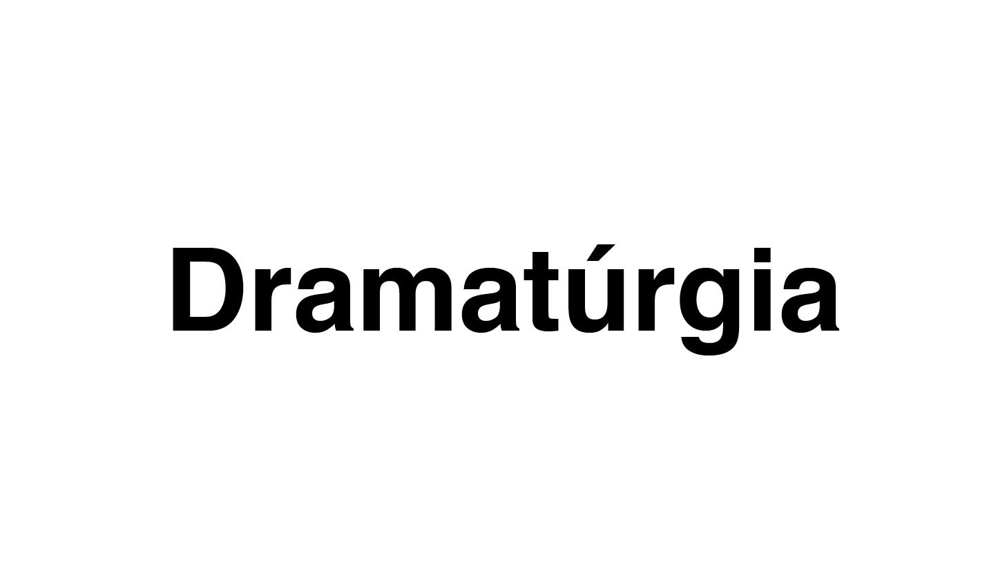 Dramatúrgia