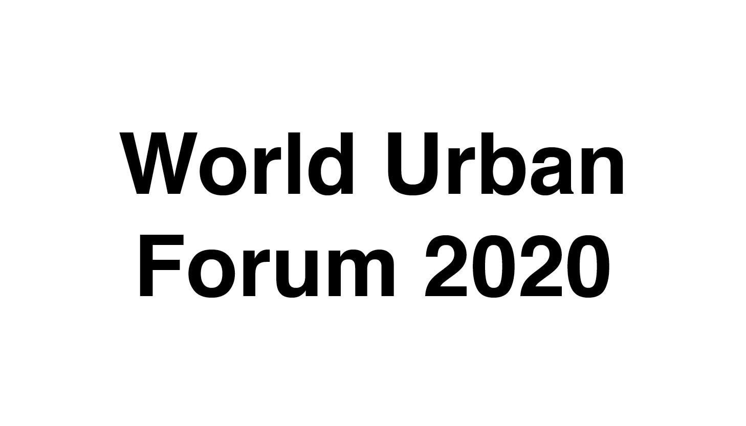 World Urban Forum 2020